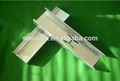 galvanizado metalinoxidável gesso canal