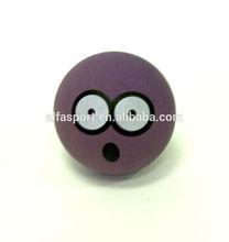 Hot Sale 65mm Rubber high bouncing flower ball, stress ball , made in Thailand
