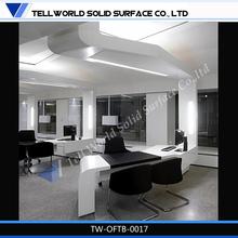 new design decorative durable modern executive table office desk supply