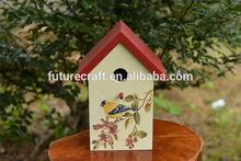 Eco-friendly FSC Wooden Bird Cage, Wooden Bird House