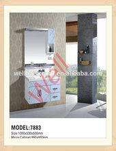 White home depot PVC bathroom vanity sets 7883
