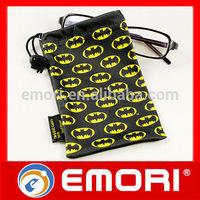 Top quality custom pocket washable colorful Microfiber glasses bag
