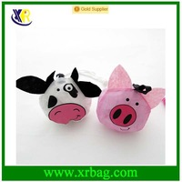 fashion cow shaped shopping reusable recycle foldable bag