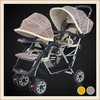 fashion New European Style Fasion baby twin stroller
