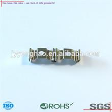 OEM ODM metal battery contact piece nickel coated steel Q195 lead spring custom nickel coated steel lead spring stamping parts