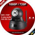 pan tilt 1080p de alta definición digital de la red wifi cámara