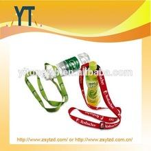 Popular Style Polyester Bottle holder lanyard /promotion gift