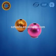 Nice Finish CNC Aluminum Turning Anodize, color anodize CNC Aluminum Ball