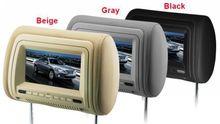 7 inch IR Transmitter Headrest Game Player 7-inch car headrest dvd