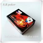 SB-LAS gold poker cards