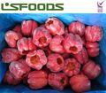 Chino congelación iqf/rojo congelado entero bell peppers