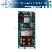 Display board MZT-HEV100 | COP&LOP panel | top lattice display for passenger elevator