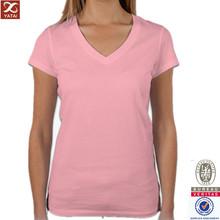 new custom design bella v neck t shirt garment label factory in china