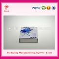 Nouveau design de noël décoratifs magnétique. carton, boîte de cadeau stylo plume boîte