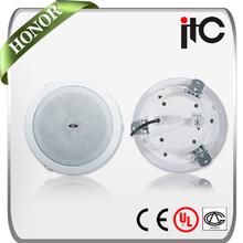 "ITC T-105FP Economical 6W 5"" Spring Clip Bathroom Speaker Active"