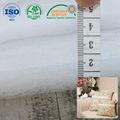 2014 textiles de fibra natural de guata amortiguador material