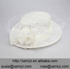 Women's Make Church Hats Cheap Flower Headwear Hair Accessories Fascinator Hat HeadPiece for Wedding Evening Party