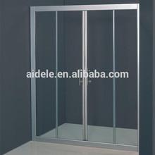 aluminium alloy frame shower glass sliding door