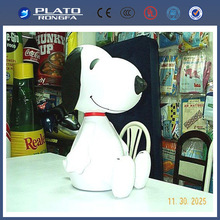 High quality giant Inflatable dog Shape,inflatable snoopy toy