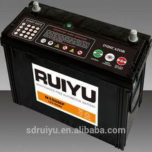 ON ENGINE FOR STARTING BATTERY 12V100AH battery