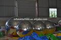 Decoração de natal atmosfera interior inflável 6 m mirror ball