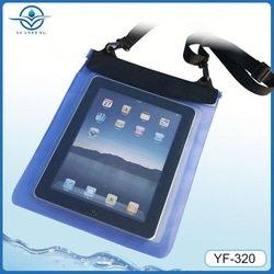 China wholesale pvc waterproof bag for 10.1 inch computer