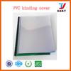 Clear A4 rigid pvc cover plastic sheet binding cover