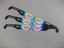 2014 Hot Seling Paper Rainbow Glasses For Gift or Promotional Activities