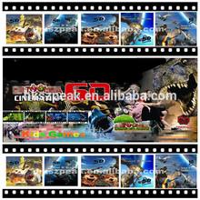Best price newest 6d 9d cinema game machine for kids