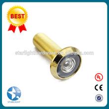 Brass door viewer Zinc alloy door viewer 160/180/200/220 degree for hotel door and home