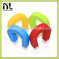 Big U shape cute rack decorative magnetic hotel plastic smart key holder promotional small innovative gift items