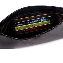 Women/lady/girl/female genuine luxury patent top layer cow-hide leather separable zipper bill case/handbag/ purse/pocket/ clutch