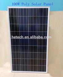 High efficiency 100w polycrystalline solar panel kit with best price