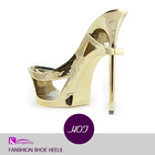 New & cheap women black lace high heel shoes