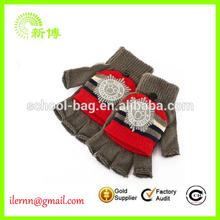 wholesale cheap Microfiber Half-fingered Gloves