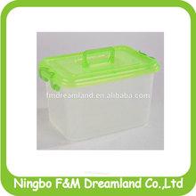 plastic storage container/storage box transparent colour