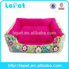 professional manufacture faux leather bed