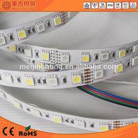china supplier 12v epistar rgbw 5050 high lumens output led strip light