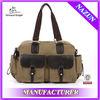 wholesale golf cheap winter khaki canvas traveling bags for men
