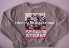 Men's fleece printed hoodie