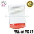 Con conexión de cable/110db inalámbrico al aire libre de alarma 220v sirene
