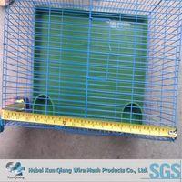 PVC coated high quality galvanized indoor rabbit cage