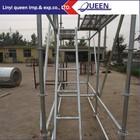 Popular in Africa Q235 Standard Steel Ringlock Scaffolding for inside/outside Construction