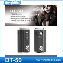 Big Vaporizer E cig Dovpo DT-50 Mod with OLED Display VV Mechanical Mod DOVPO DT 50 50w Factory Price E-cig vv vw mod