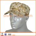 hombre mujer de camuflaje militar de cadetes del ejército tapa sombrero de patrón