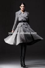 Popular stylish natural mink fur coat