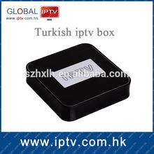 Turkish language channels iptv box , linux iptv stb