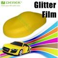 diamante de la perla de color amarillo limón brillo de la perla de vinilo para envolver la cubierta del coche