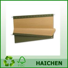 Haichen Manufacturing A4/FC hot sale hanging file/suspension file folder/hanging folder bag