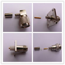 TNC TYPE RF Coaxial Connector crimp for flexible cable